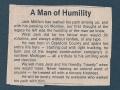 A Man of Humility