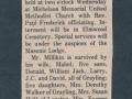 Jack Millikin's Obituary
