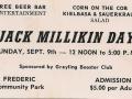Jack Millikin Day