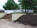 Screened topsoil and Dairy Doo Compost