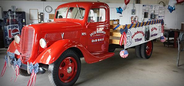 Jack Millikin's Parade Truck